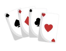 Pokerspill på nettet er fortsatt populært